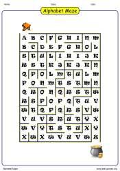 https://www.edu-games.orgThe alphabet maze maker logo