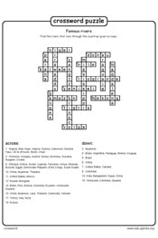 Educational game crossword logo
