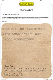 the sentence spy game secret code.
